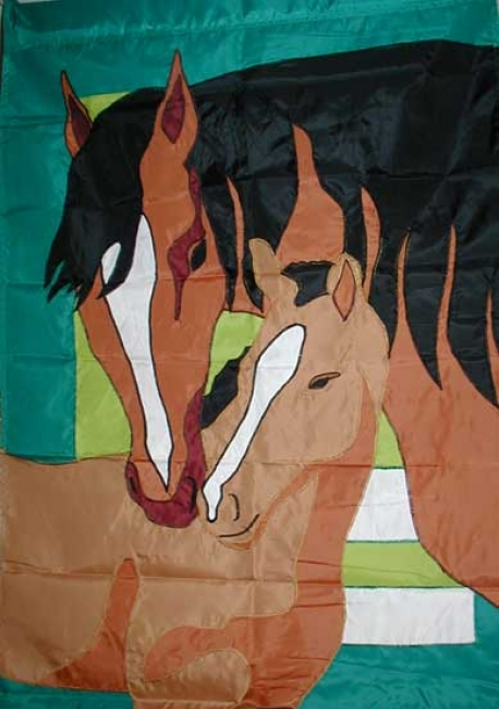 Mare and Foal Flag