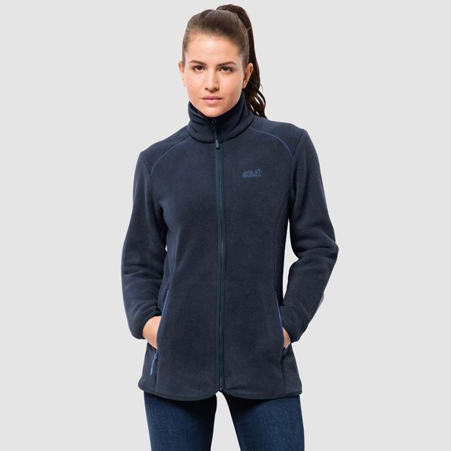 f821e7ffbc REGULAR PRICE: $99.00. CURRENT PRICE: $79.50. YOU SAVE: $19.50. Jack  Wolfskin Ladies Moonshine Altis Fleece Jacket