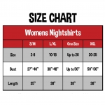 Womens Nightshirt Ruff Night by Lazy One