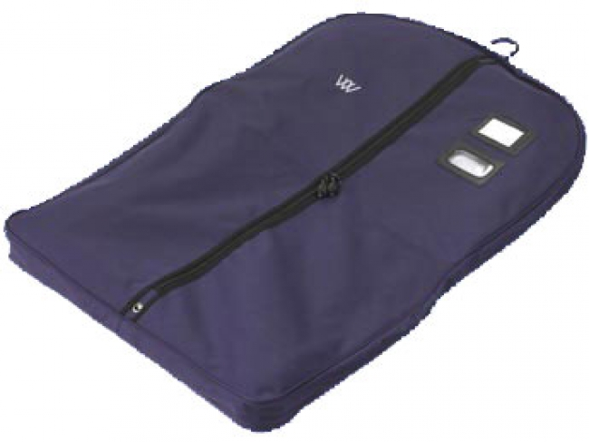 Woof Wear garment bag is ideal for keeping show jackets clean.