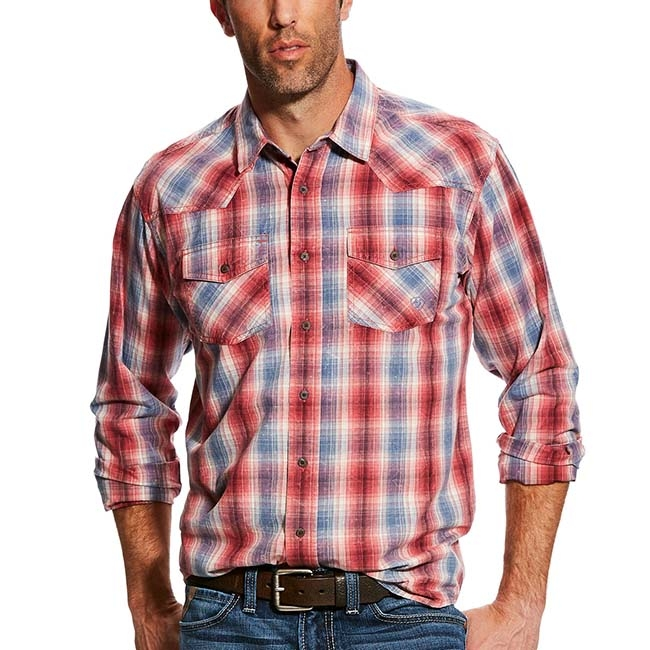 Ariat Mens Isley Retro Western Shirt -Button Down