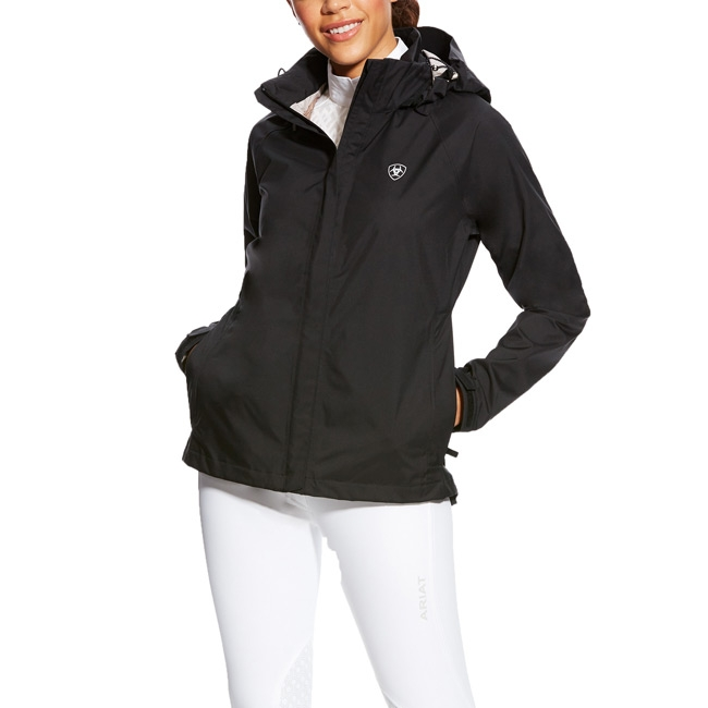 Ariat Womens Black Packable H2O Jacket