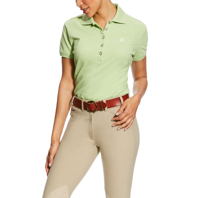 Ariat Womens Prix Polo - Lime Heather