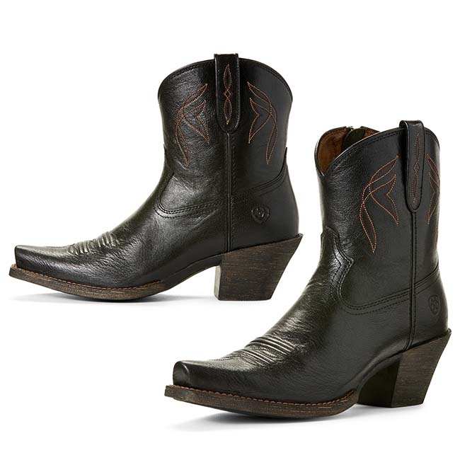 4962eef7a1fa5 $149.95. Ariat Lovely Short Western Boot Black