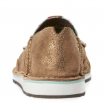 Ariat Womens Red Ccactus Metallic Bronze Cruiser Shoes