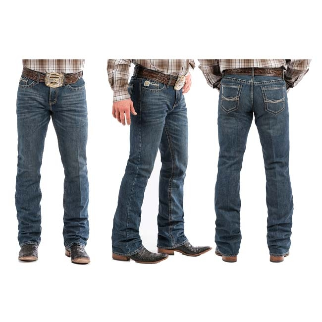 11d941d33b1 Cinch Medium Wash Ian Slim Boot Cut Jeans