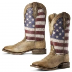 Ariat Stars and Stripes Ranchero  Western Boots
