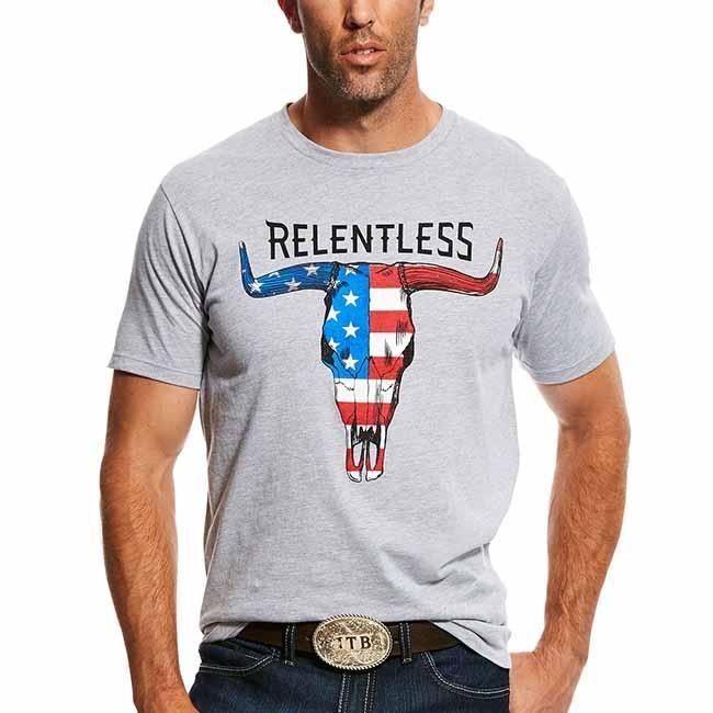 d8575b547 ... Kiwi Green Polo Short Sleeve Shirt. men's ariat t shirts Ariat  Relentless Mens T Shirt