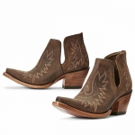 Ariat Dixon Cowgirl Boots Weathered Brown