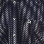 Cinch Arenaflex Short Sleeve Shirt - Navy Diamond