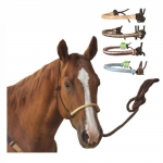 Classic Equine Rope Halter - Rawhide Nose