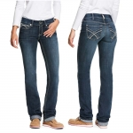 Ariat Womens REAL Kylie Stackable Straight Jeans
