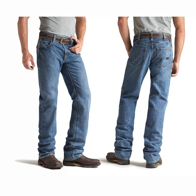 Ariat FR3 Loose Basic Stackable Straight Leg Jeans