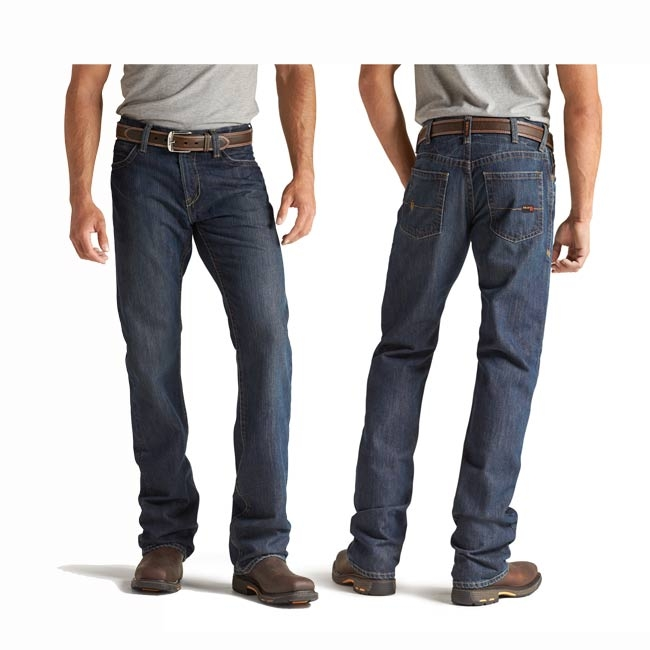 Ariat FR M4 Low Rise Basic Boot Cut Denim Jeans