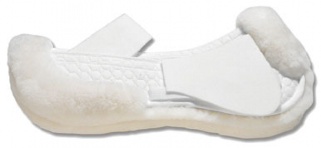 EA Mattes Correction Sheepskin Half Pad White