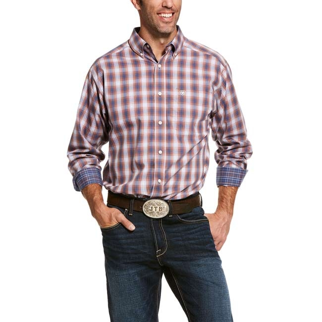 Ariat Men's Valero Classic Fit Plaid Shirt – Wrinkle Free