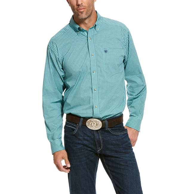 Ariat Men's Pro Series Stretch Classic Fit Shirt – Ronan