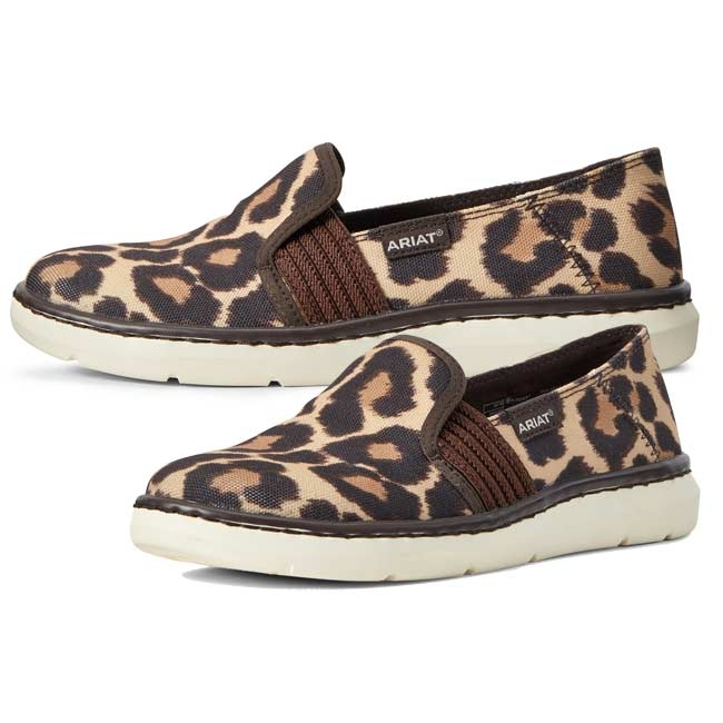Leopard Print Ryder Casual Shoes