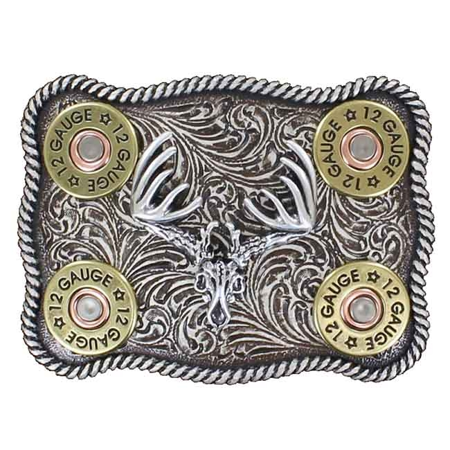 Nocona Shotgun Shell Belt Buckle