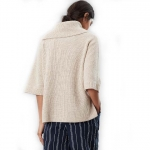Joules Sarah Knitted Poncho Sweater