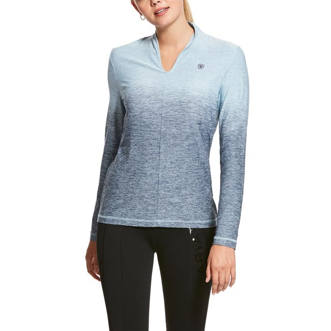Ariat Pennant Base Layer in Lake Life Ombre