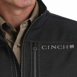 Cinch Black Fleece Lined Bonded Jacket for Men