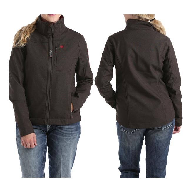 Cinch Ladies Concealed Carry Bonded Jacket Brown/Berry