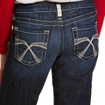 Ariat Girls REAL Boot Cut Jeans Franky