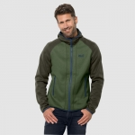 Jack Wolfskin Hydro Hooded Jacket Moss Green
