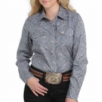 Cinch Ladies' Western Snap Shirts in Paisley