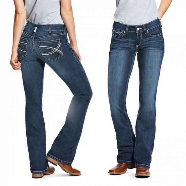 Ariat REAL Shayla Boot Cut Jeans Arrow Fit