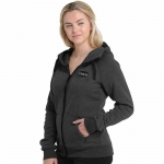 Cinch Heather Black Full Zip Sweatshirt