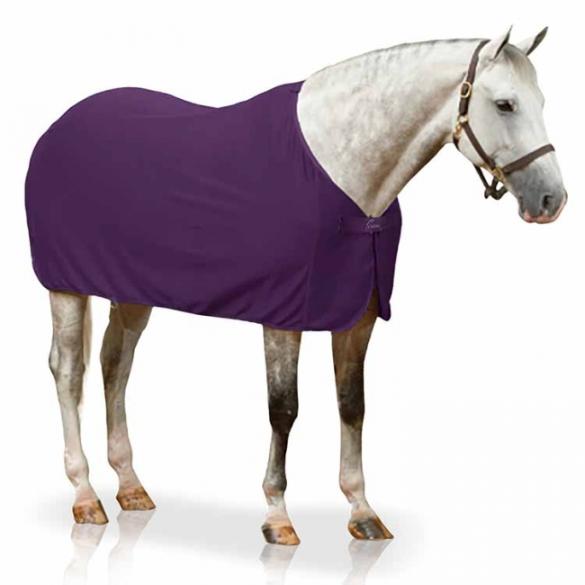 Pessoa Turbo Dry Fleece Sheet in plum