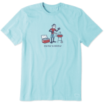 Life is Good Men's Chillin and Grillin Shirt