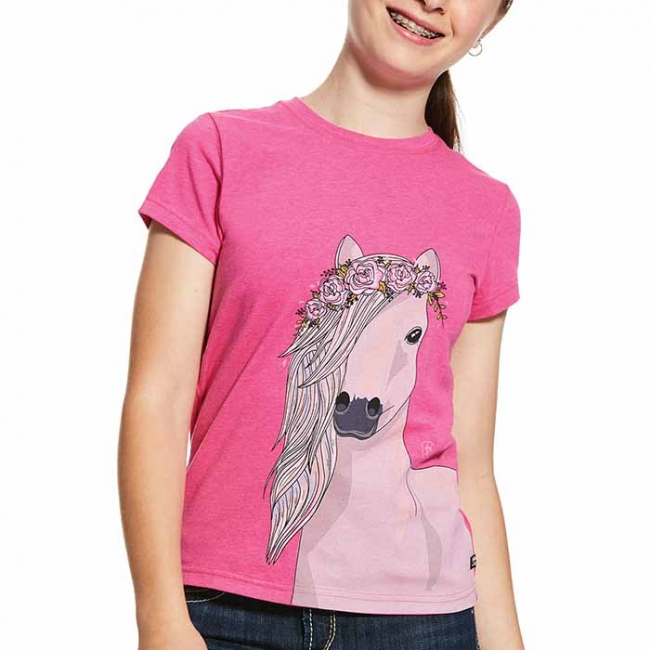 Ariat Girls Festival Horse Tee