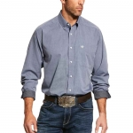 Ariat Wrinkle Free Pinpoint Oxford Classic Fit Men's Shirt