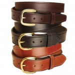 "Tory Fully Stitched 1.5"" Leather Belt"