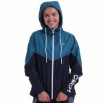 Cinch Hooded Rain Jacket for Women