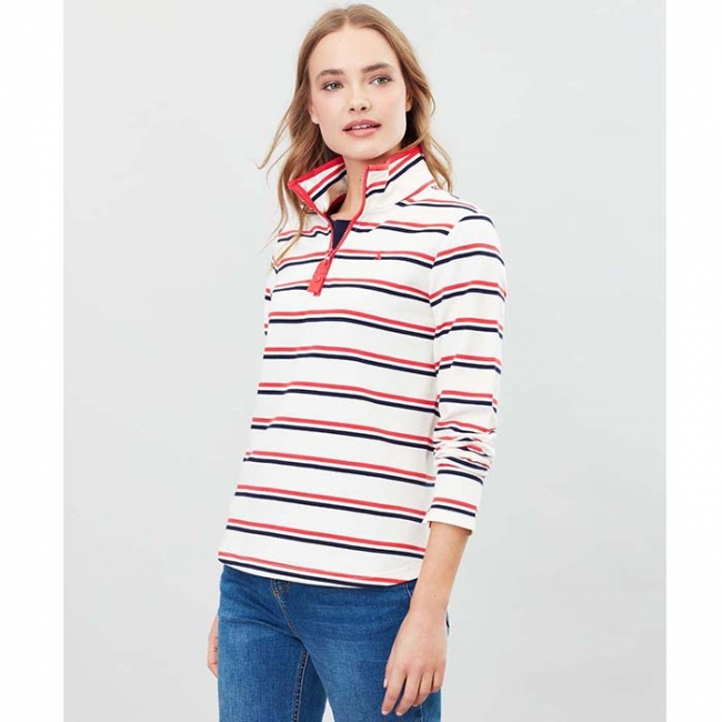 Joules Fairdale Sweatshirt with Zip Neck