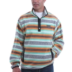 Cinch Printed Polar Fleece Pullover for Men