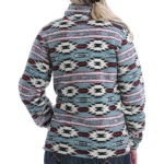Cinch Women's Plush Jaquard Fleece Pullover