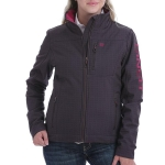 Cinch Embossed Bonded Jacket for Women w/Concealed Carry