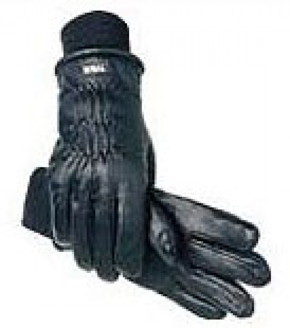 SSG Winter Riding Glove in Black Leather