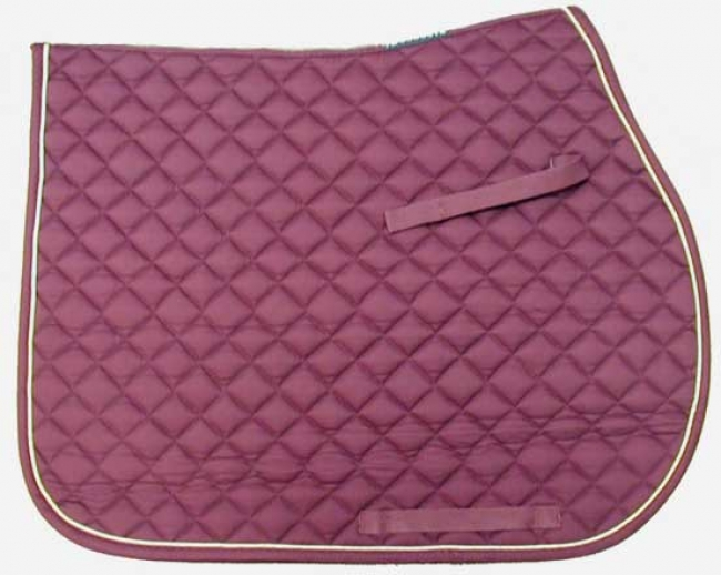 Toklat Passport Quilt General Purpose Pad-Burgundy