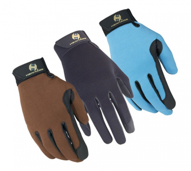 Heritage Performance Colors Riding Gloves