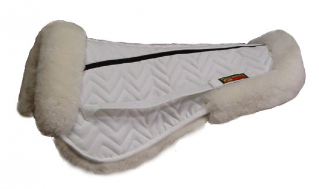 Fleeceworks FWXK Classic Halfpad with Rolled Edge