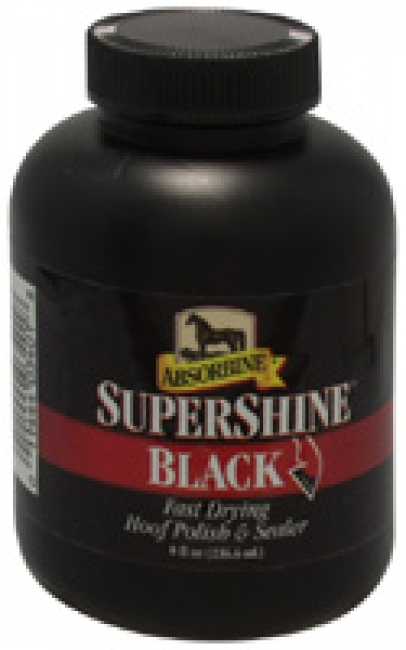 Supershine Black Hoof Polish