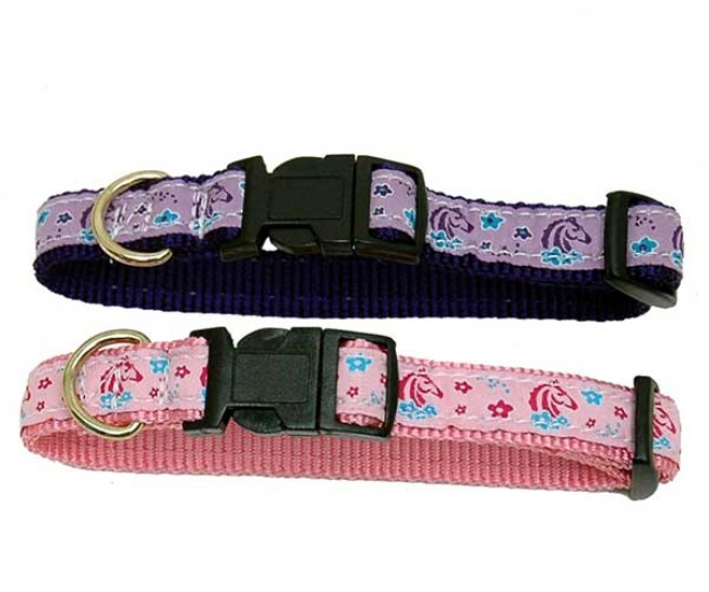 Dog Collar From Ribbon Collection