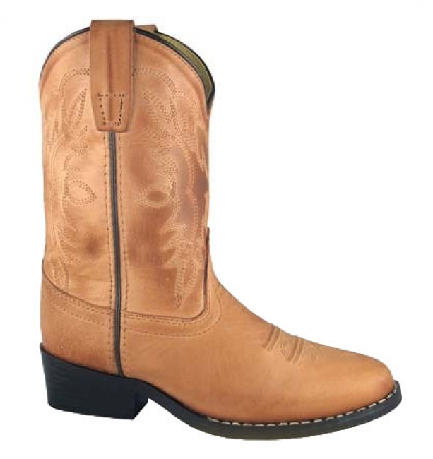 Smoky Mountain Bomber Tan Western Boot for Children