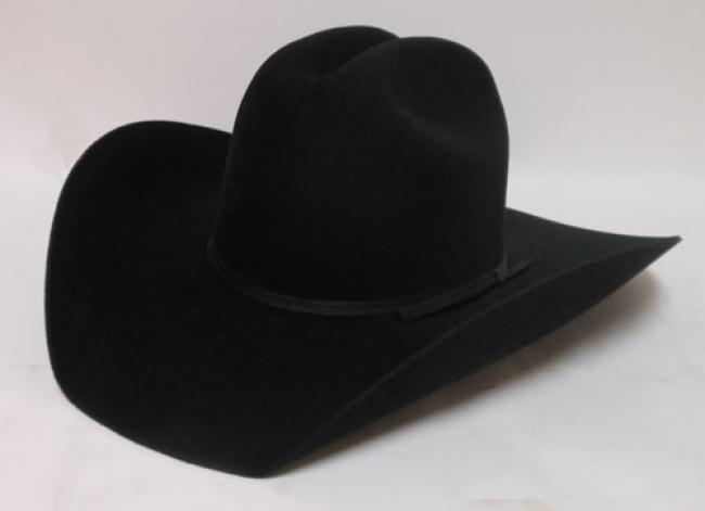 Atwood Hat Company Black Felt Western Hat 002993ea8fe